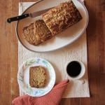 {Gift Idea} banana breads made with love + other good things.