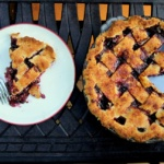 Summer Berry Peach Pie