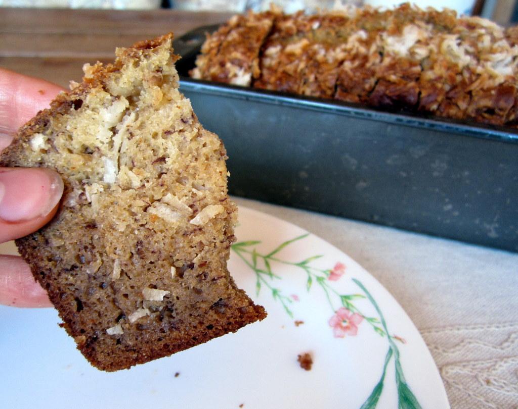 Banana Coconut Bread Recipe — Dishmaps