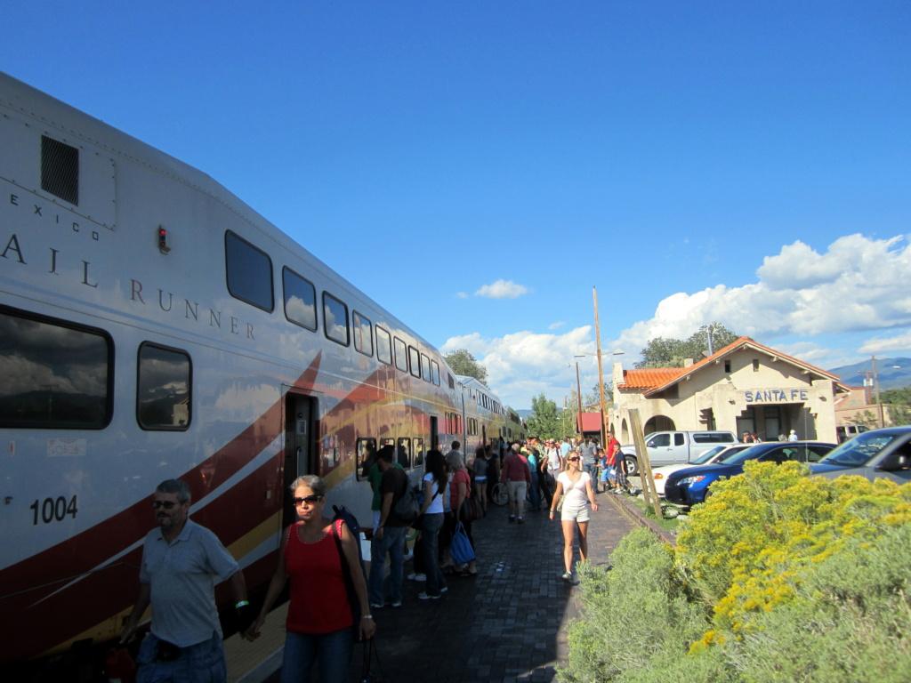 train in santa fe