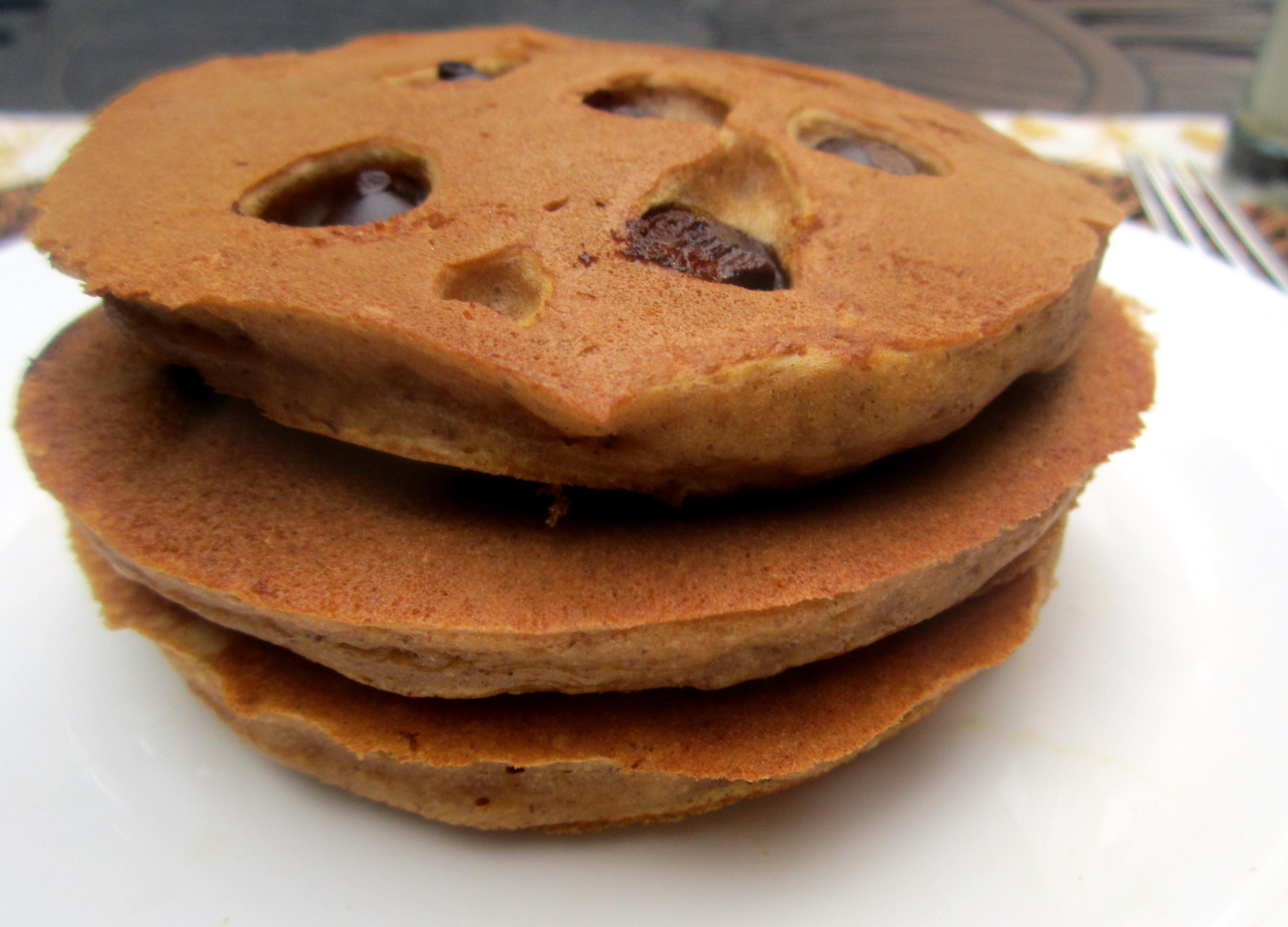 chocolate chunk pancakes recept yummly pumpkin chocolate chip pancakes ...