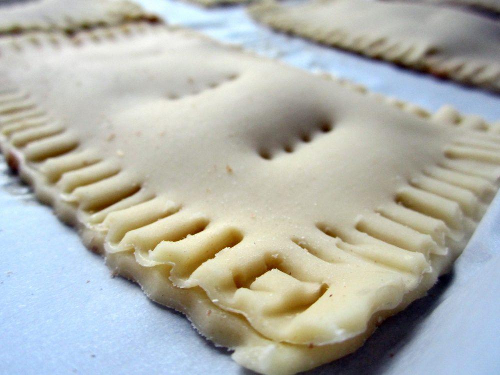 unbaked homemade pumpkin cream cheese pop tart