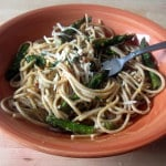 Whole Wheat Lemon Spaghetti with Asparagus