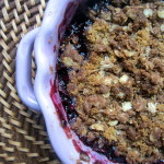 Gluten-free Blueberry Apple Crumble