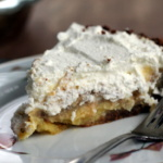 slice of lemon cream pie