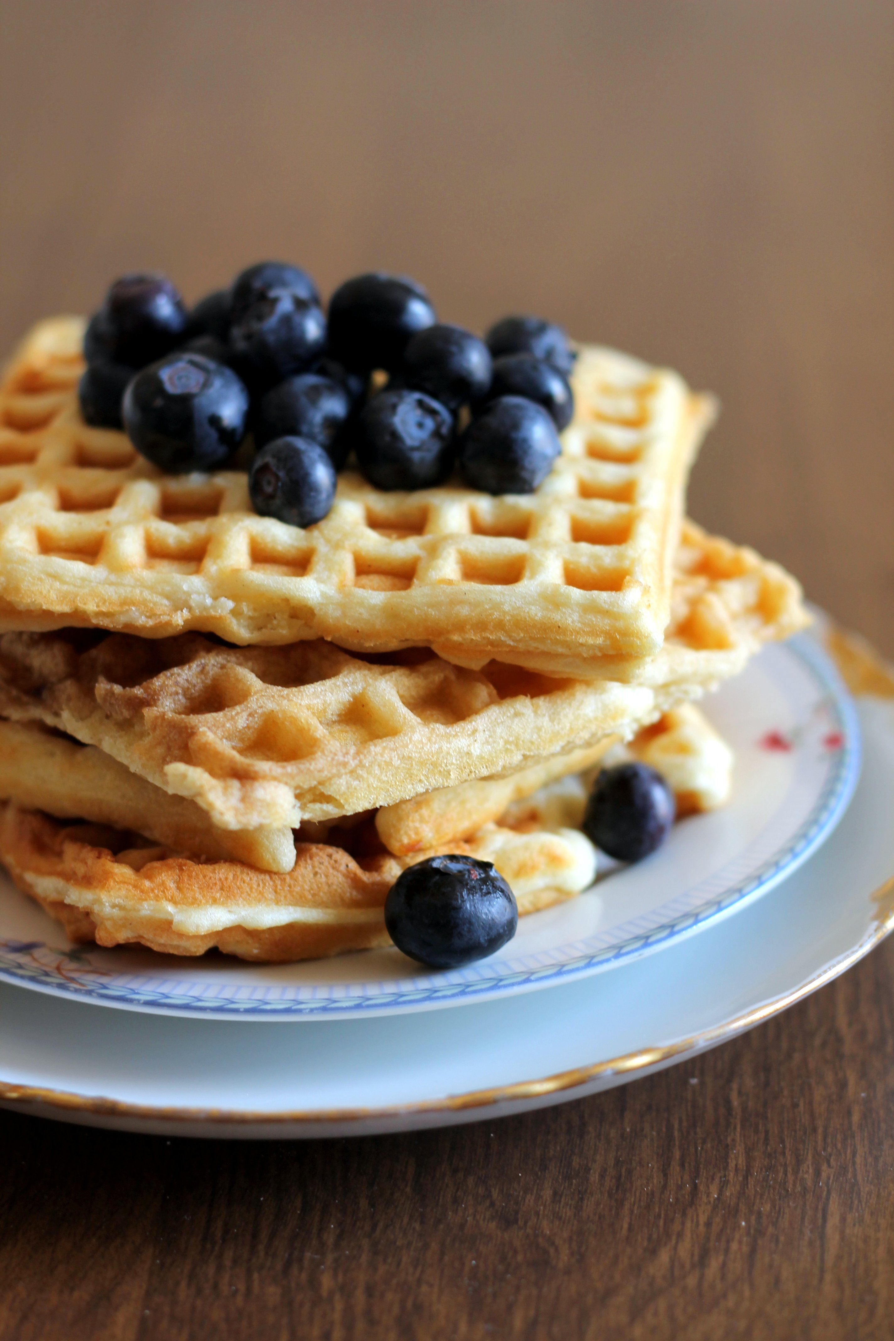Grandma S Buttermilk Waffles Ambitious Kitchen