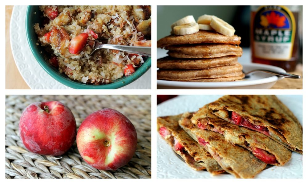 Four healthy breakfast ideas and recipes