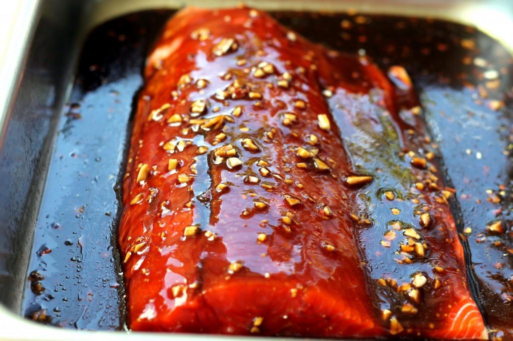 honey teriyaki salmon recipe yummly pan fried honey teriyaki salmon ...