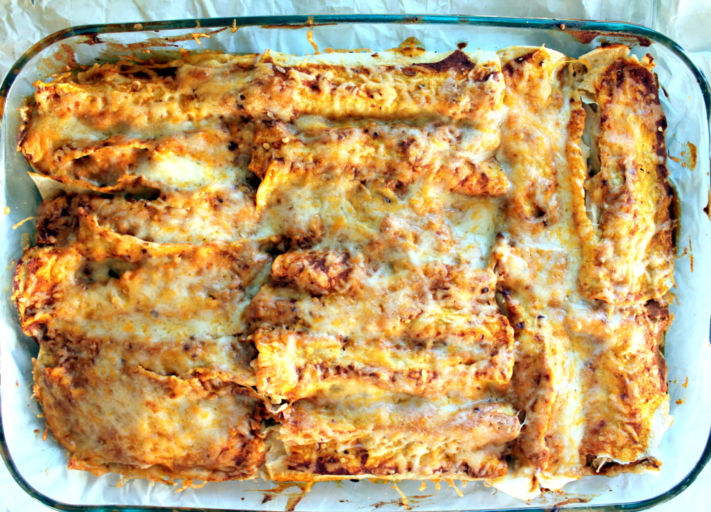 Those on! spicy black bean enchiladas recipe
