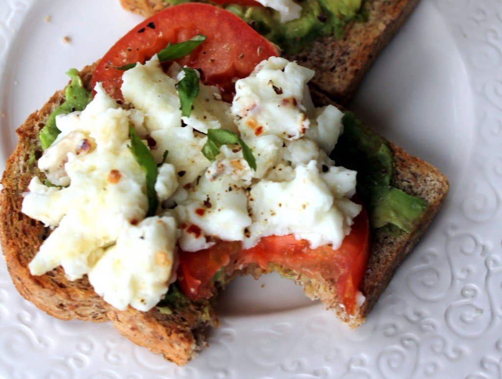 ... open faced sandwich open faced egg and tomato sandwich recipe video