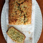 Coconut Lemon Poppyseed Bread with toasted coconut topping