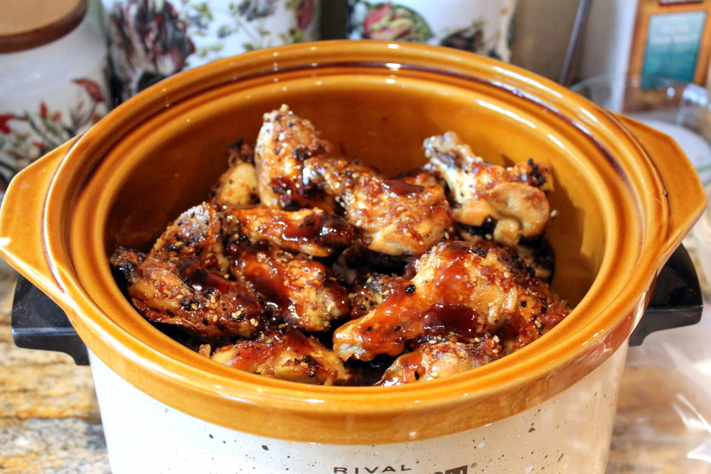 chicken wings in slow cooker