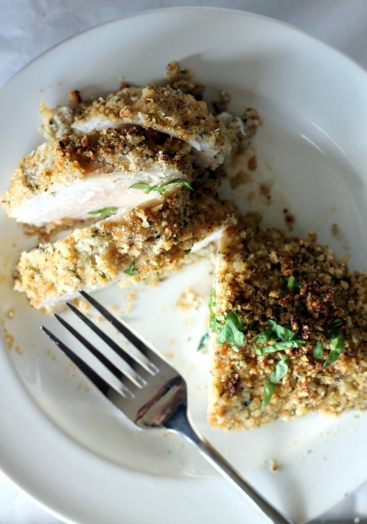 Crispy Garlic + Parmesan Oven-Fried Chicken | Ambitious Kitchen