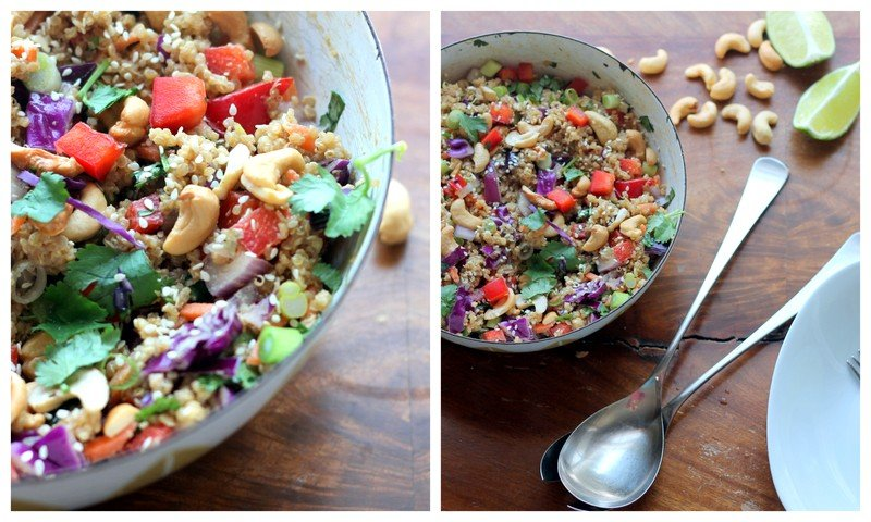 ... how cabbage has managed cashew thai quinoa salad quinoa cabbage salad