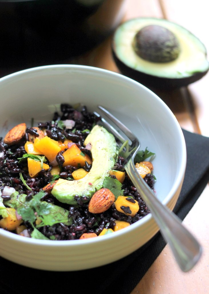 Black Bean, Avocado, And Mango Salad With Cilantro And Lime Recipes ...