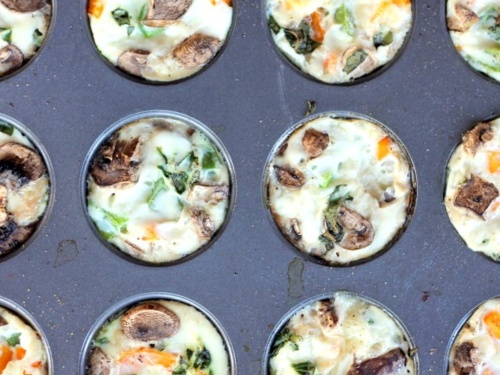 Cheesy Egg White Veggie Breakfast Muffins Low Carb Gluten Free Ambitious Kitchen