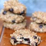 2-Ingredient Healthy Banana Bread Breakfast Cookies