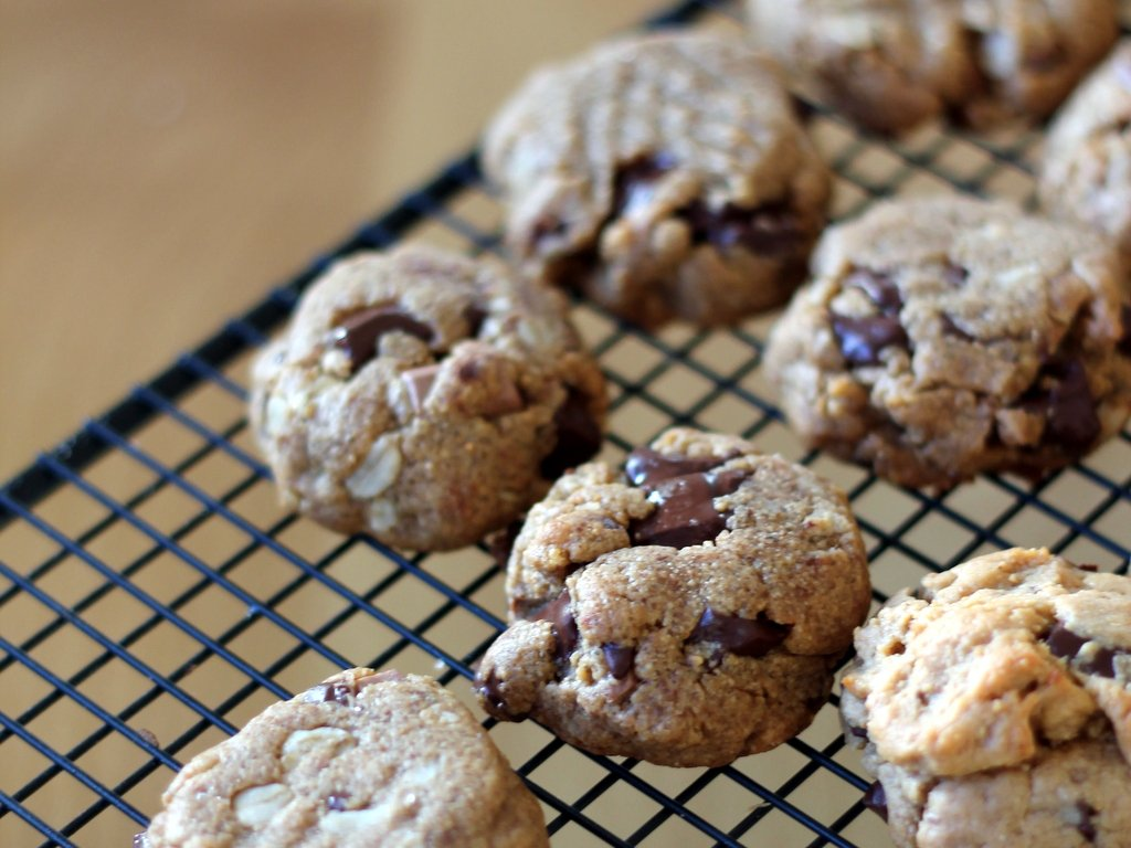 ingredient Flourless Peanut Butter Chocolate Chunk Cookies