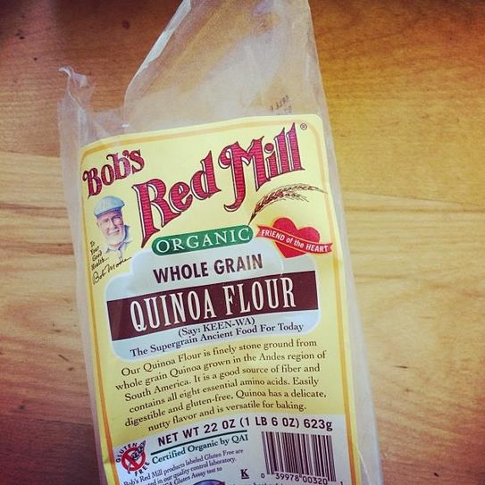 Bob's Red Mill quinoa flour package
