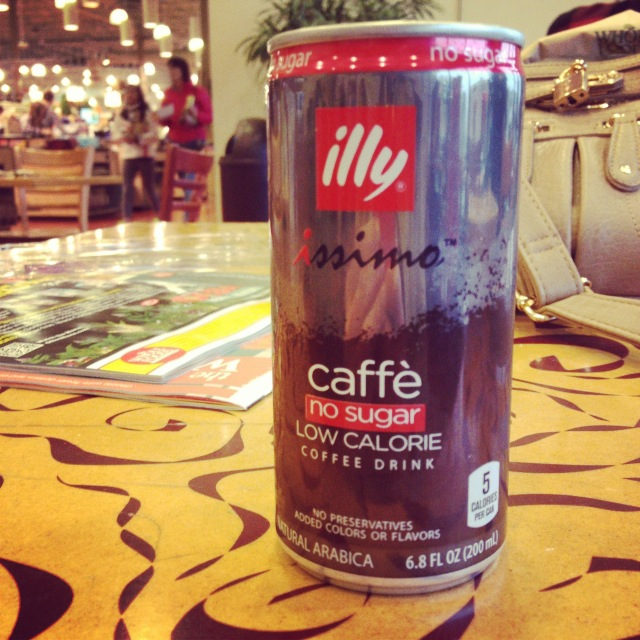 illy canned coffee