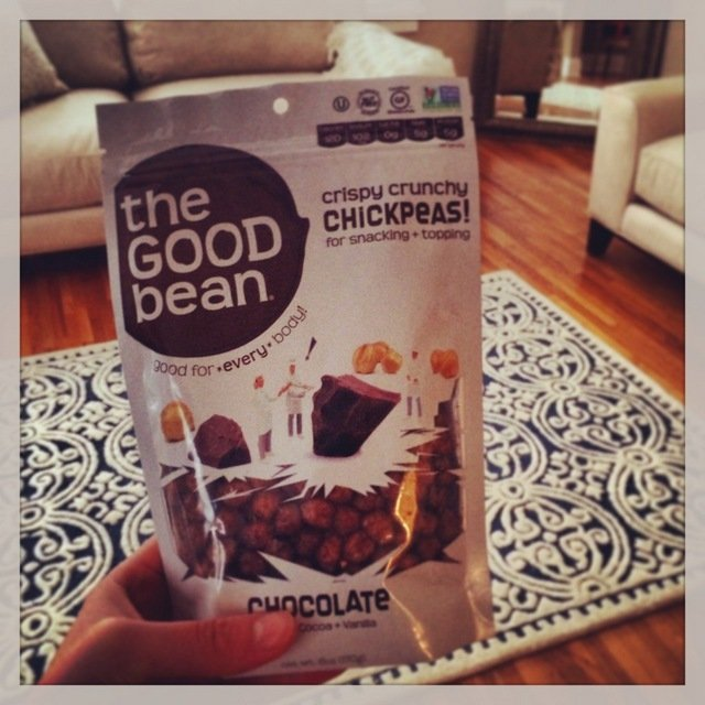 The Good Bean chocolate chickpeas