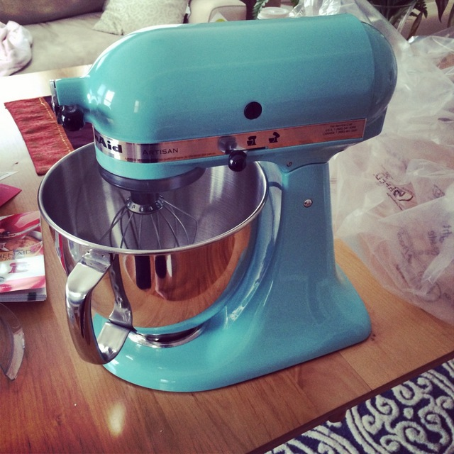 Kitchenaid Mixer on a table