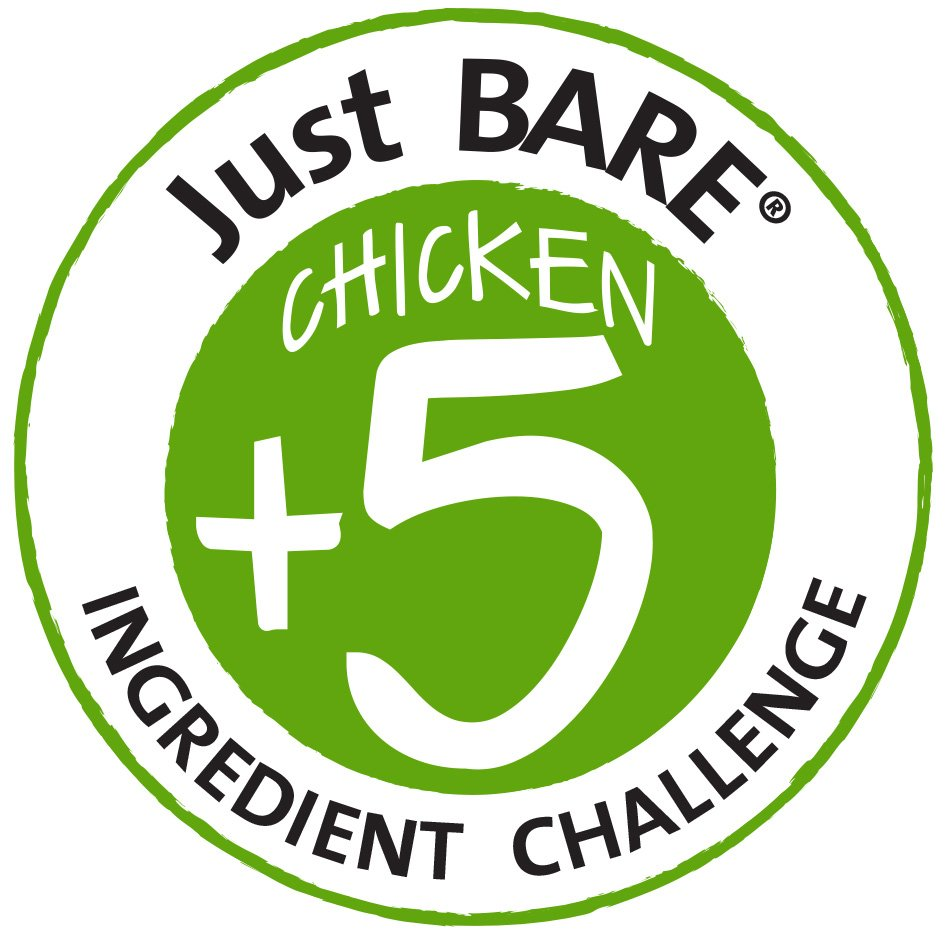 Just Bare Chicken Challenge logo