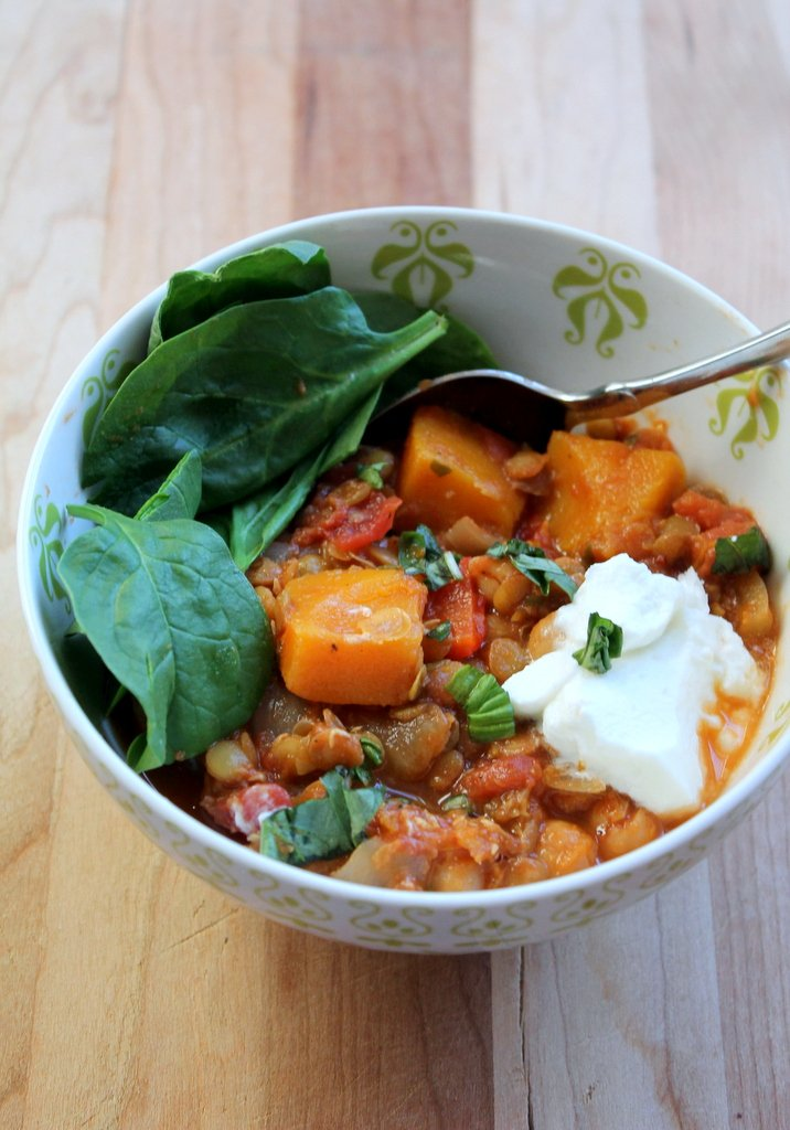 squash quinoa african peanut stew with shrimp and butternut squash ...