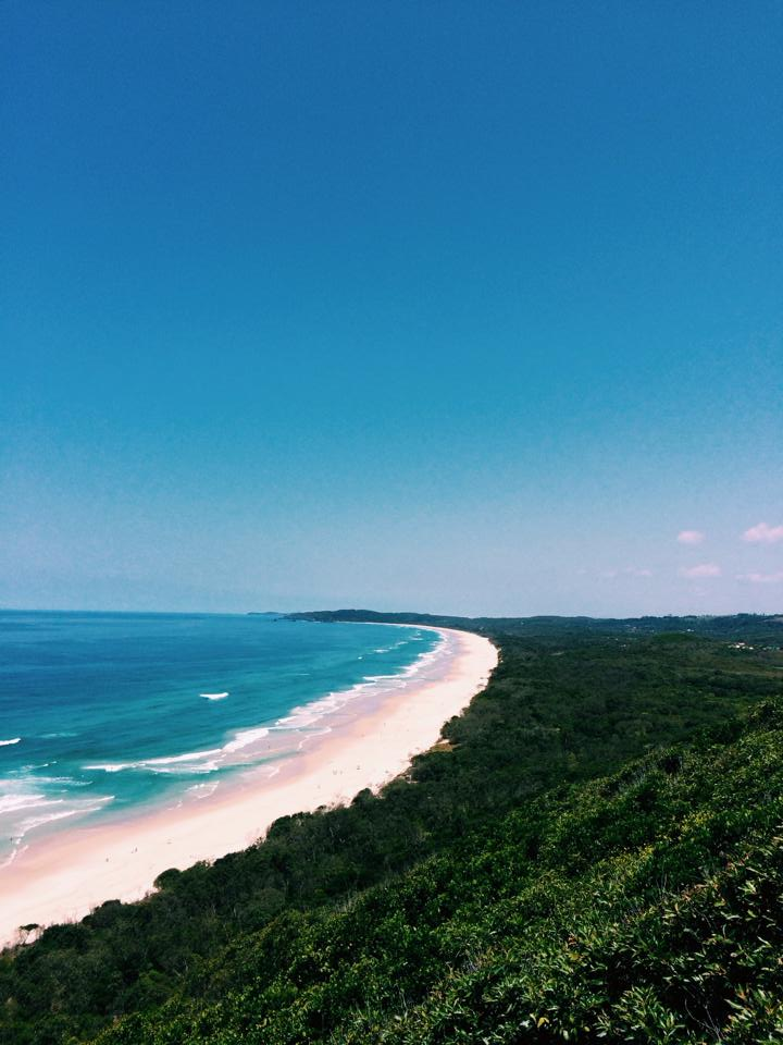 Ocean view in Byron Bay