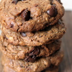Toasted Pecan Butter Oatmeal Chocolate Chip Cookies