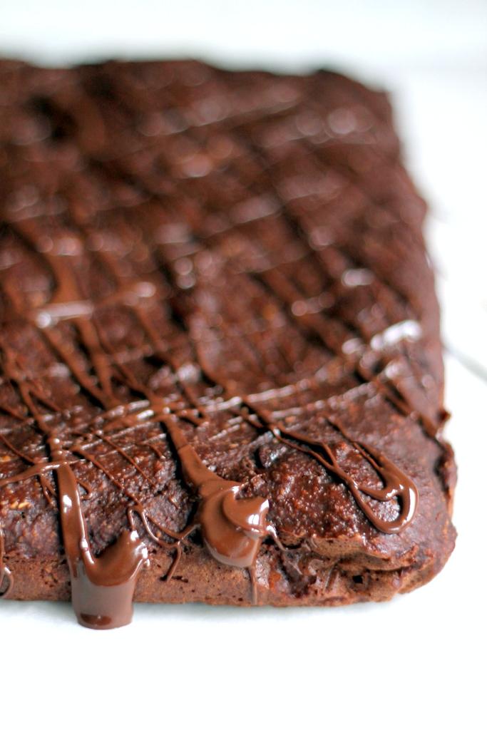 Double Chocolate Banana Bread Oat Bars