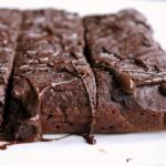 Double Chocolate Banana Bread Oat Bars {vegan and gluten free}