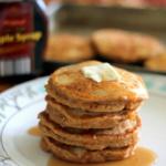 Chai-Spiced Sweet Potato Pancakes