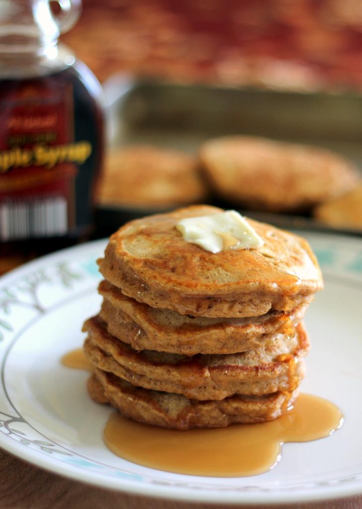 Chai-Spiced Sweet Potato Pancakes | Ambitious Kitchen