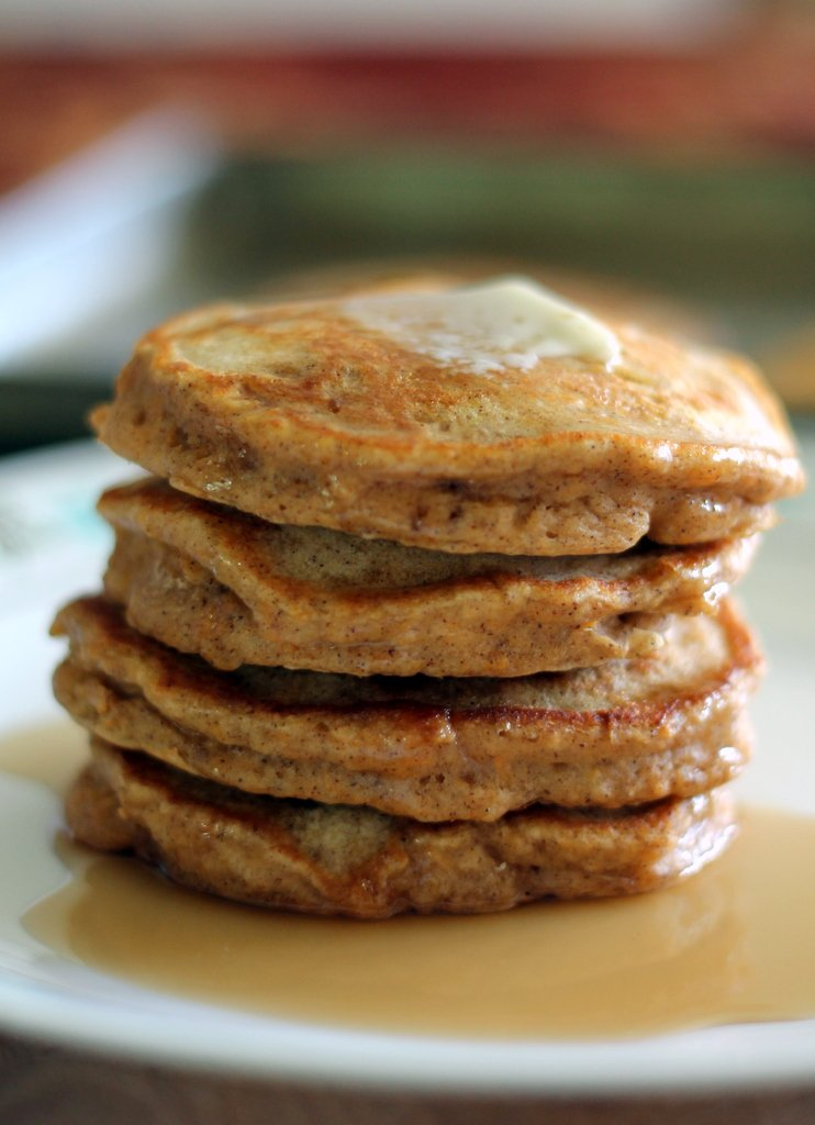Chai spiced sweet potato pancakes ambitious kitchen sweet potato pancakes with chai spices these are thick fluffy and healthy ccuart Images