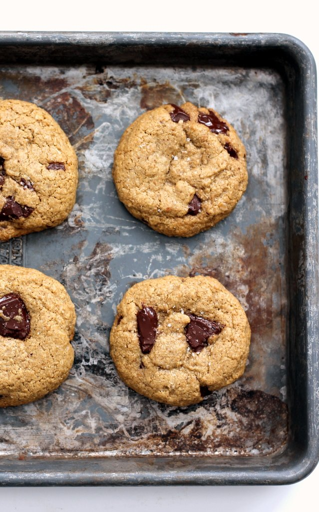 Gluten Free Oatmeal Chocolate Chunk Cookies | Ambitious ...
