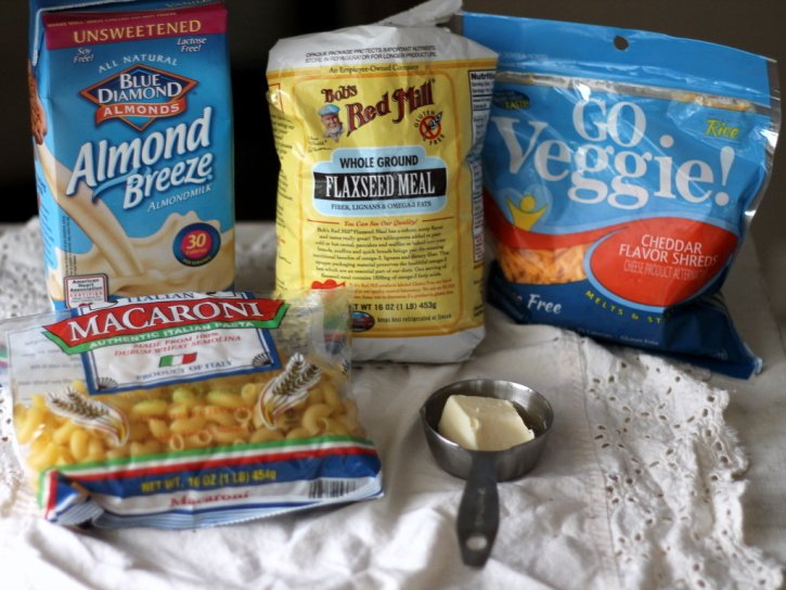 ingredients for Stove-Top Macaroni and Cheese