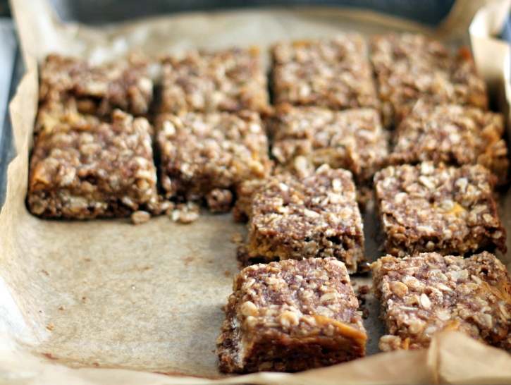 Gluten Free Pumpkin Pie Bars with an oatmeal brown sugar crust - dairy free, too!