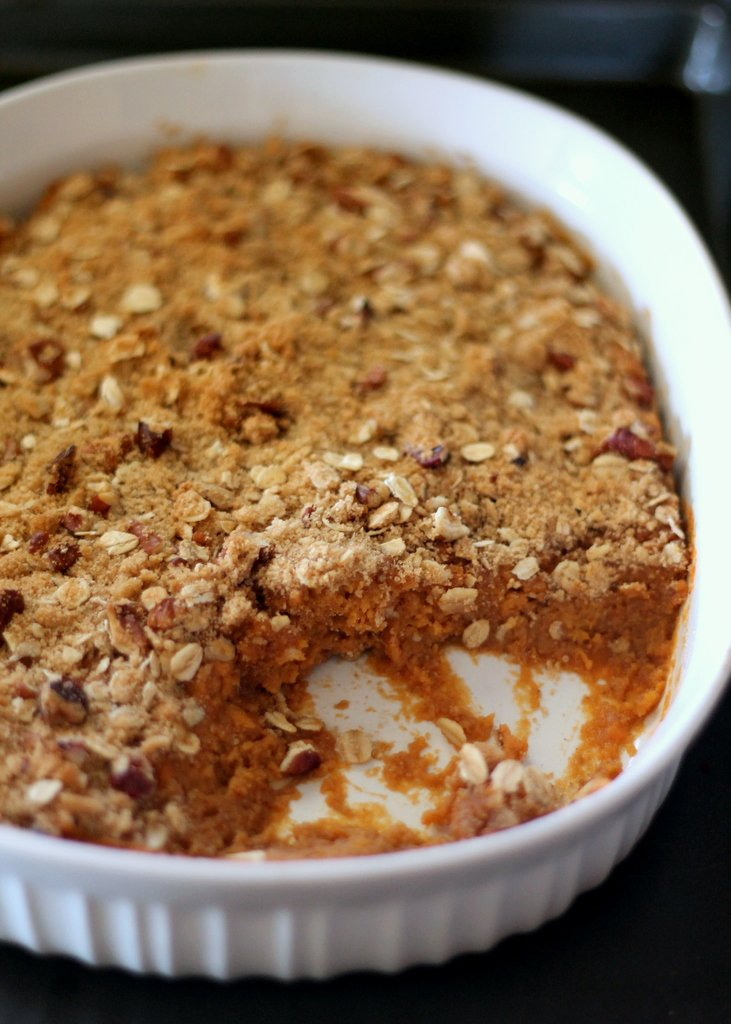 recipe: crumble topping for sweet potato casserole [19]
