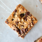 Peanut Butter Banana Chocolate Chip Chickpea Blondies {gluten free & vegan-friendly}