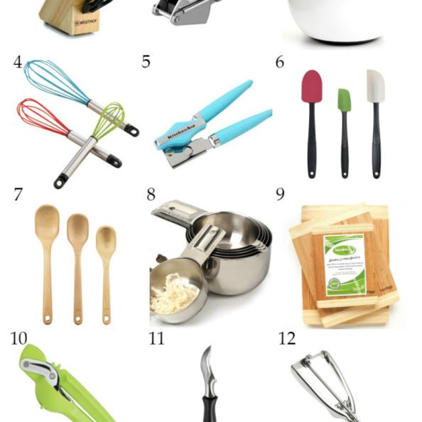 15 Basic Kitchen Essentials Gift Guide graphic