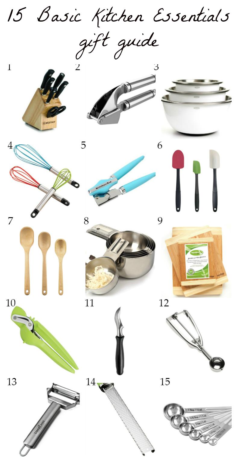 Kitchen Essentials 15 basic kitchen essentials {holiday gift guide} | ambitious kitchen