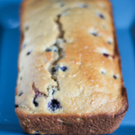 Vegan Lemon Blueberry Loaf