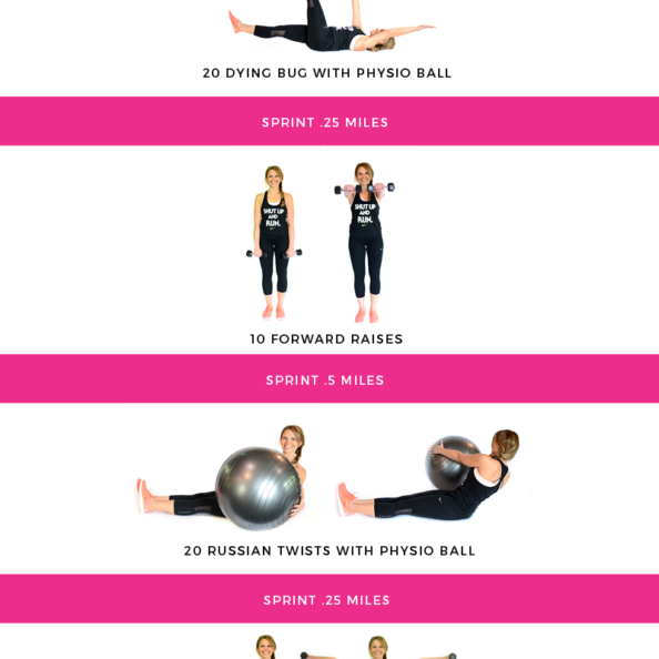 interval cardio workout graphic