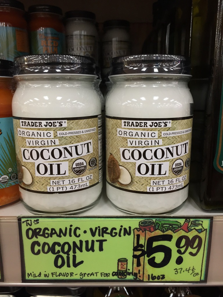 jars of coconut oil