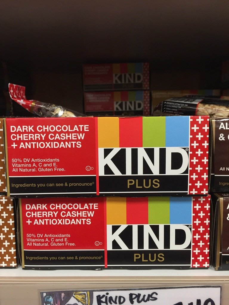 boxes of kind bars