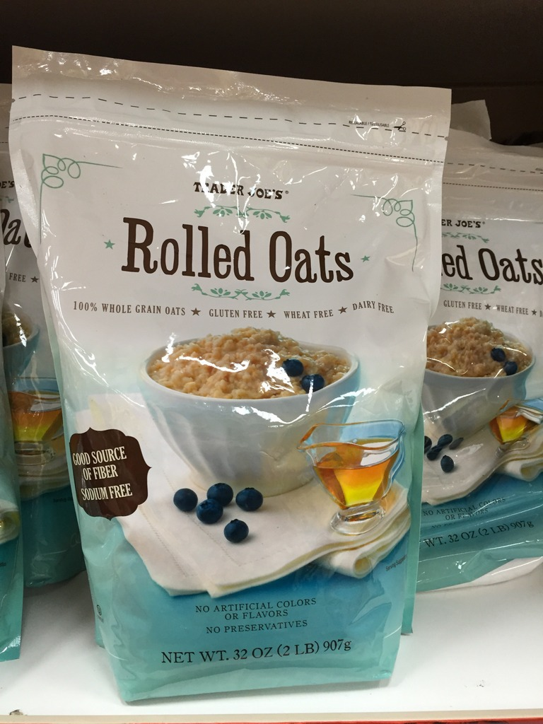 bag of rolled oats