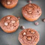 Double Chocolate Coconut Flour Muffins {grain free!}