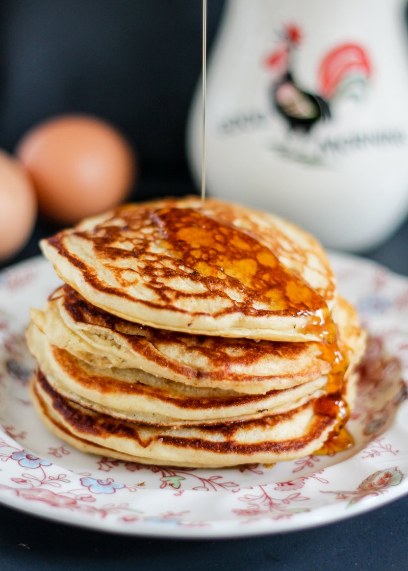 Delicious Gluten Free Banana Pancakes Made With Wholesome Ingredients Like  Quiona Flour And Greek Yogurt