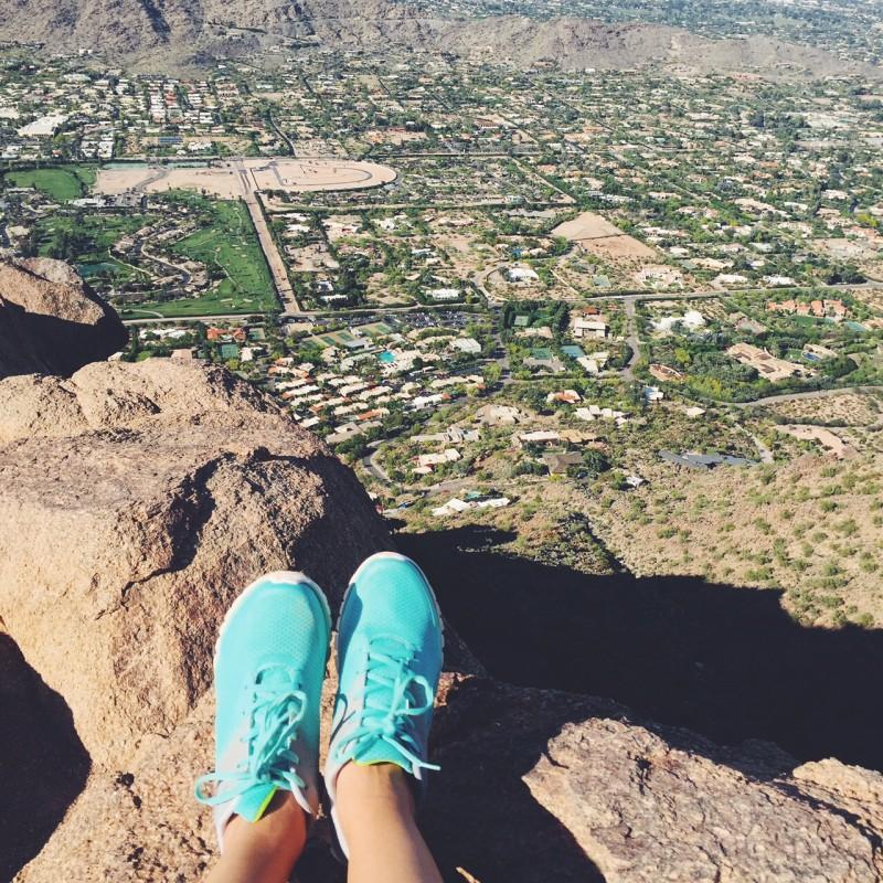 overlooking Glendale, Arizona